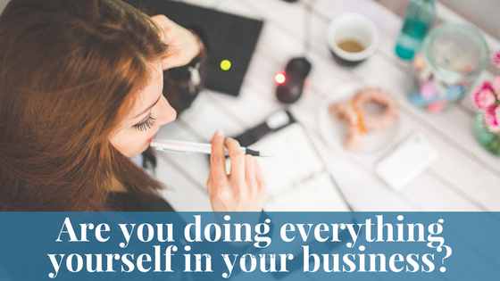 How To Get Out Of The Cycle Of Doing Everything Yourself