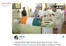 Former PM Atal Bihari Vajpayee Passes Away in Delh