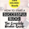 How To Start a Blog That Generates $10,000 a Month