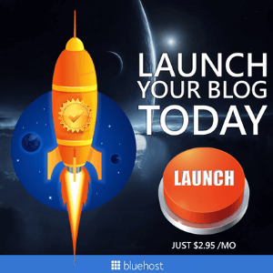 start a blog today bluehost