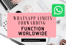 WhatsApp limits forwarding function worldwide