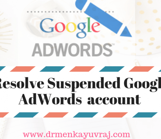 How to Fix Suspended Google Adwords account